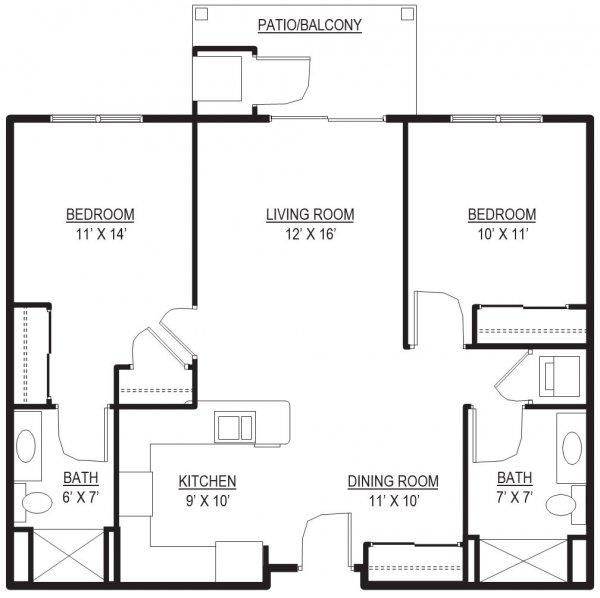Stonefield 1 Floorplan