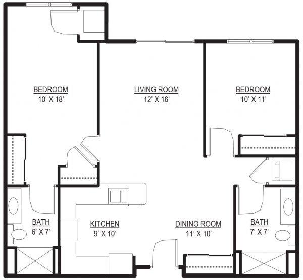 Stonefield 3 Floor Plan